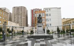 Azerbaijani president visits newly-built park with statue of Shah Ismail Khatai (PHOTO/VIDEO) - Gallery Thumbnail