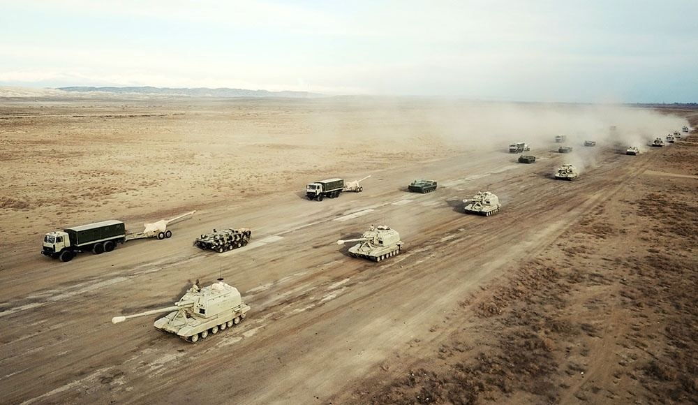 Azerbaijani army starts large-scale exercises (PHOTO/VIDEO)