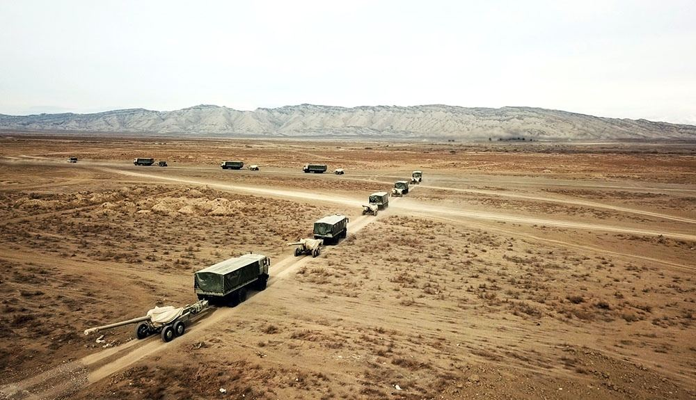 Azerbaijani army starts large-scale exercises (PHOTO/VIDEO) - Gallery Image