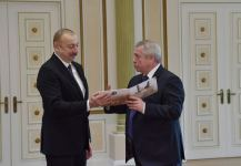 Azerbaijani president receives delegation led by governor of Russia's Rostov Region (PHOTO/VIDEO) - Gallery Thumbnail