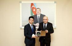 Naqif Həmzəyev Gürcüstanın Gəncədəki Baş konsulu ilə görüşüb (FOTO) - Gallery Thumbnail