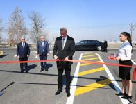 Azerbaijani president attends opening of newly reconstructed highway in Tovuz (PHOTO) - Gallery Thumbnail