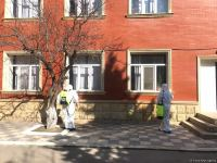 Disinfection work ongoing in Baku amid COVID-19 threat (PHOTO) - Gallery Thumbnail