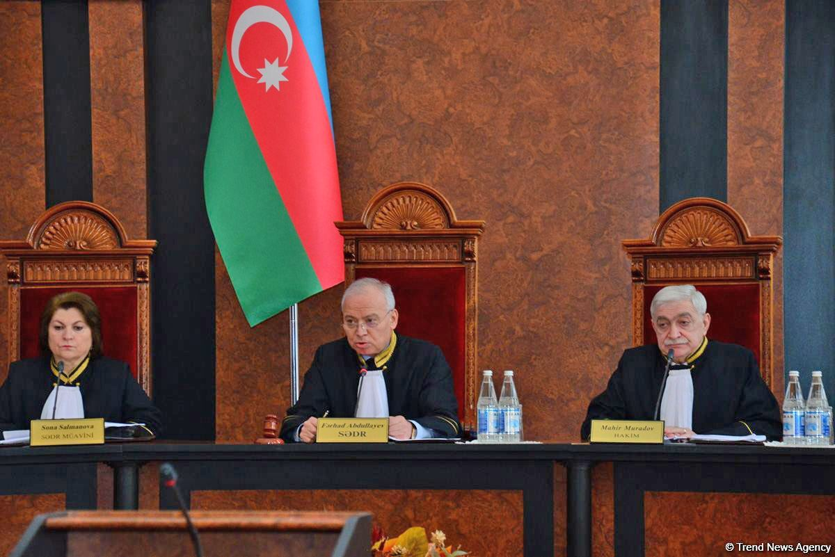 Azerbaijan's Constitutional Court approves parliamentary election results (PHOTO) (UPDATED) - Gallery Image