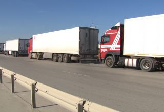 Cargo transportation in Azerbaijan's Nakhchivan increases