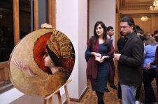 """Bakıda rəssam və fotoqrafların """"Harmoniya"""" adlı qrup sərgisi açılıb (FOTO) - Gallery Thumbnail"""