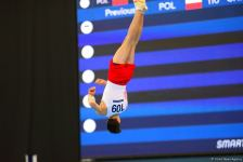 AGF Junior Trophy International Tournament in Men's Artistic Gymnastics kicks off in Baku (PHOTO) - Gallery Thumbnail