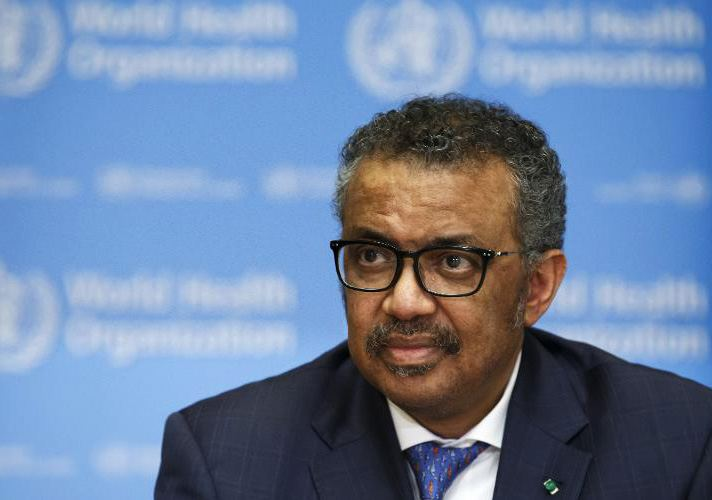 WHO's Tedros sends best wishes to UK's Johnson suffering COVID-19