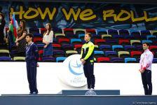 В Баку прошла церемония награждения победителей Международного турнира AGF Junior Trophy по отдельным снарядам (ФОТО) - Gallery Thumbnail
