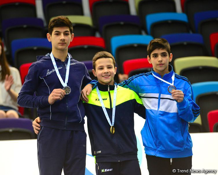 Baku hosts awarding ceremony for winners of AGF Junior Trophy International Tournament in separate exercises (PHOTO) - Gallery Image
