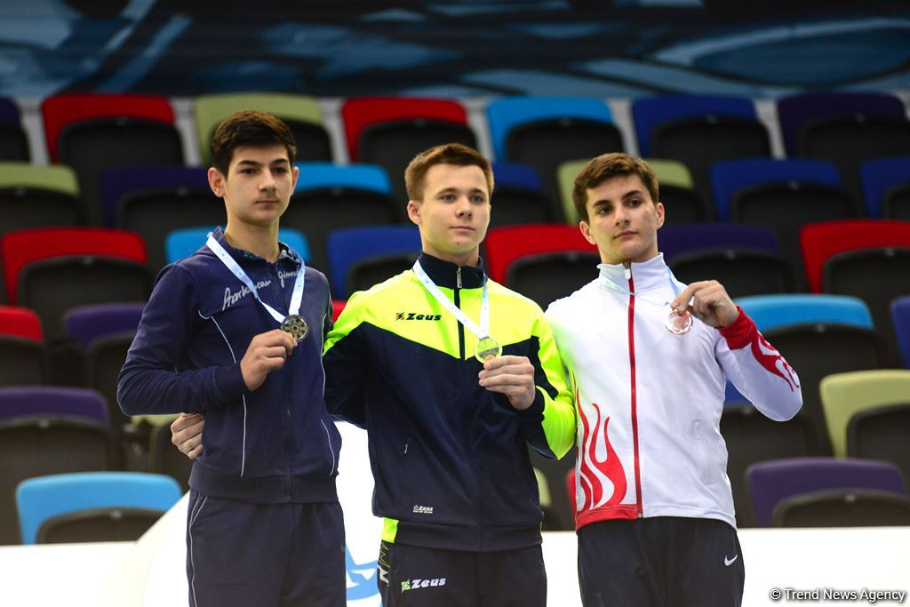 Baku hosts awarding ceremony for winners of AGF Junior Trophy International Tournament in separate exercises (PHOTO)