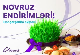 More and more gifts from Azercell on Novruz eve!