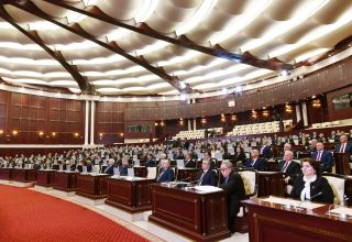 First plenary meeting of Azerbaijan's Parliament of new convocation begins