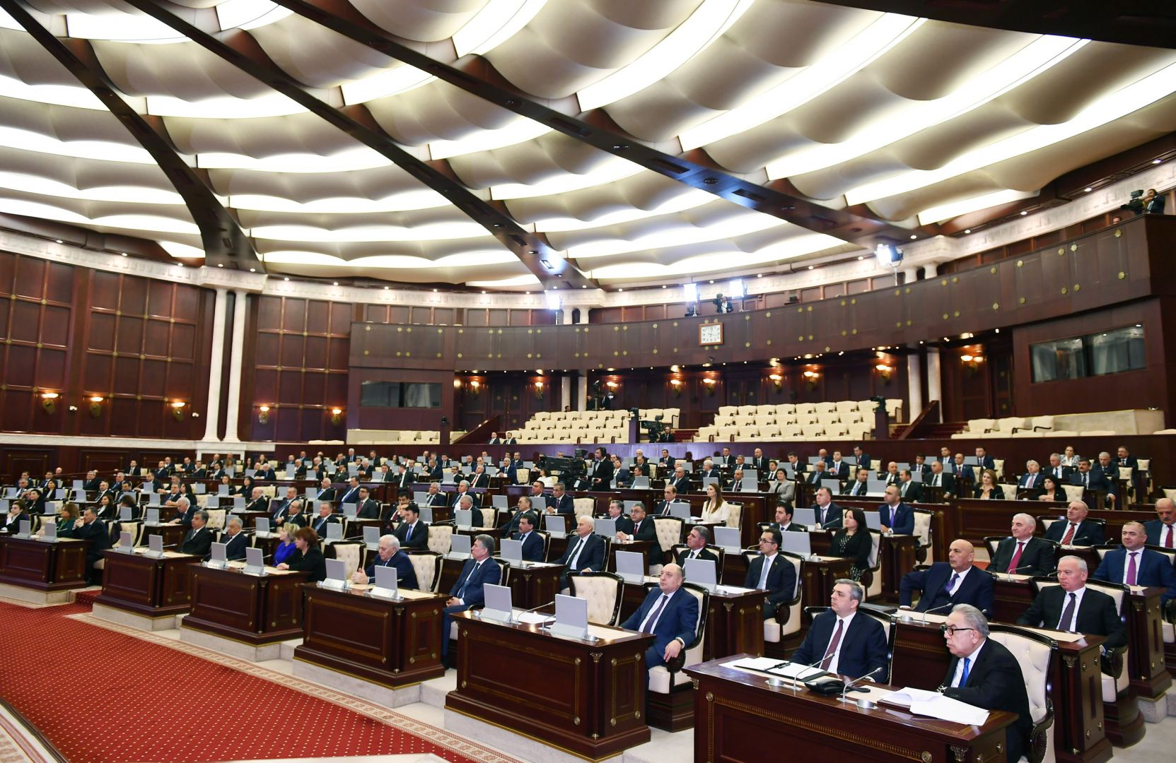 Candidacies for posts of speaker, first vice speaker of Azerbaijan's Parliament revealed