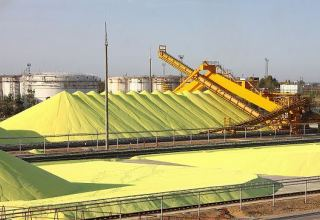 Sulfur production increases in Kazakhstan in Aug, 2020