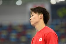 Podium training of athletes involved in FIG Artistic Gymnastics Apparatus World Cup underway at National Gymnastics Arena in Baku (PHOTO) - Gallery Thumbnail