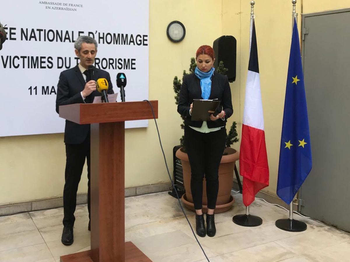 Ambassador: France grateful to Azerbaijan for solidarity in fight against terror (PHOTO)