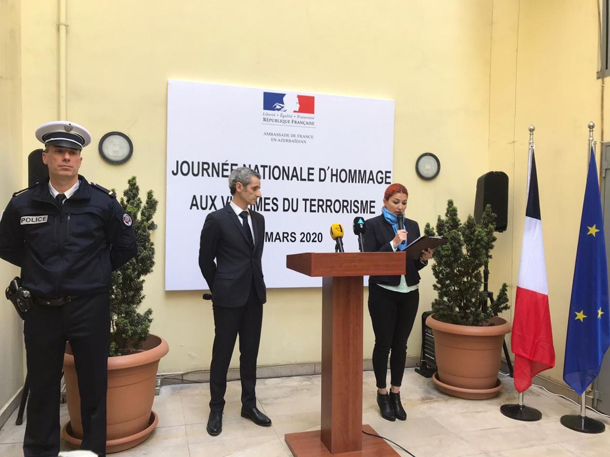 Ambassador: France grateful to Azerbaijan for solidarity in fight against terror (PHOTO) - Gallery Image