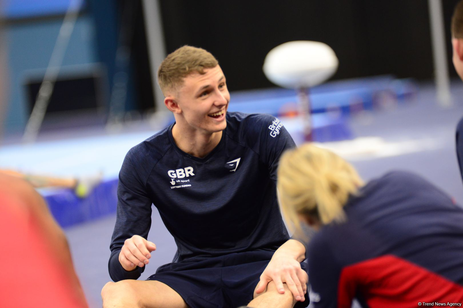 Podium training of athletes involved in FIG Artistic Gymnastics Apparatus World Cup underway at National Gymnastics Arena in Baku (PHOTO) - Gallery Image