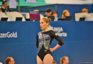 Azerbaijani gymnast reaches final of European Championship in Basel