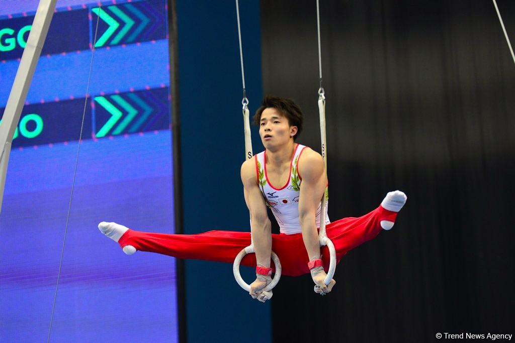 Second day of FIG Artistic Gymnastics Apparatus World Cup kicks off in Baku