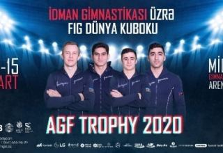Finals of FIG Artistic Gymnastics Apparatus World Cup cancelled in Baku