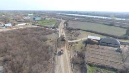 Zərdabda 7 km uzunluğunda avtomobil yolunun yenidən qurulmasına start verilib (FOTO) - Gallery Thumbnail