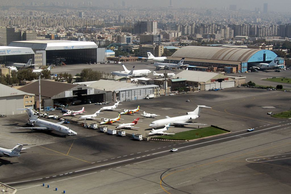 Iran closes down terminal of Mehrabad airport