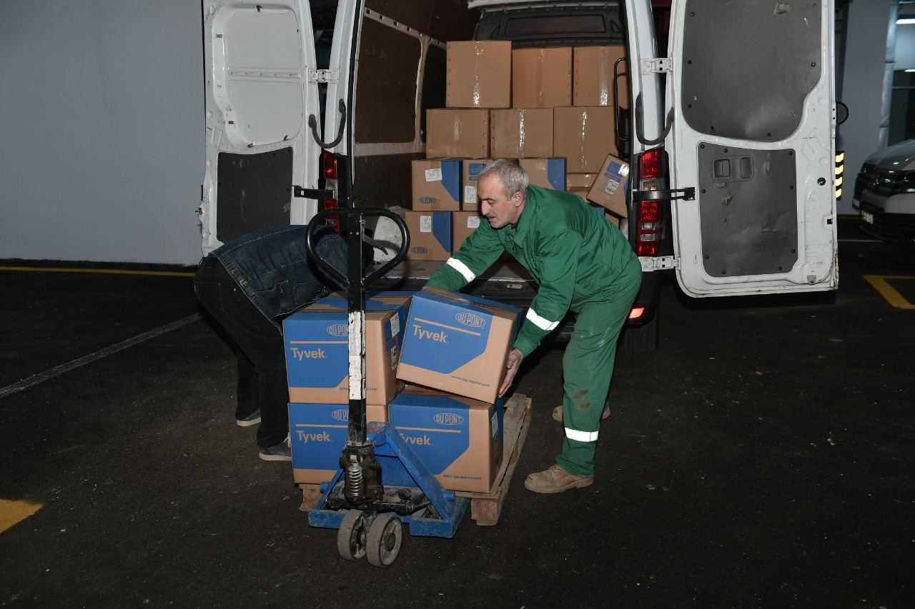 Heydar Aliyev Foundation delivers medical supplies from various countries to Azerbaijan  (PHOTO) - Gallery Image