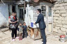 Фонд Гейдара Алиева раздал малообеспеченным семьям подарки по случаю праздника Новруз (ФОТО) - Gallery Thumbnail