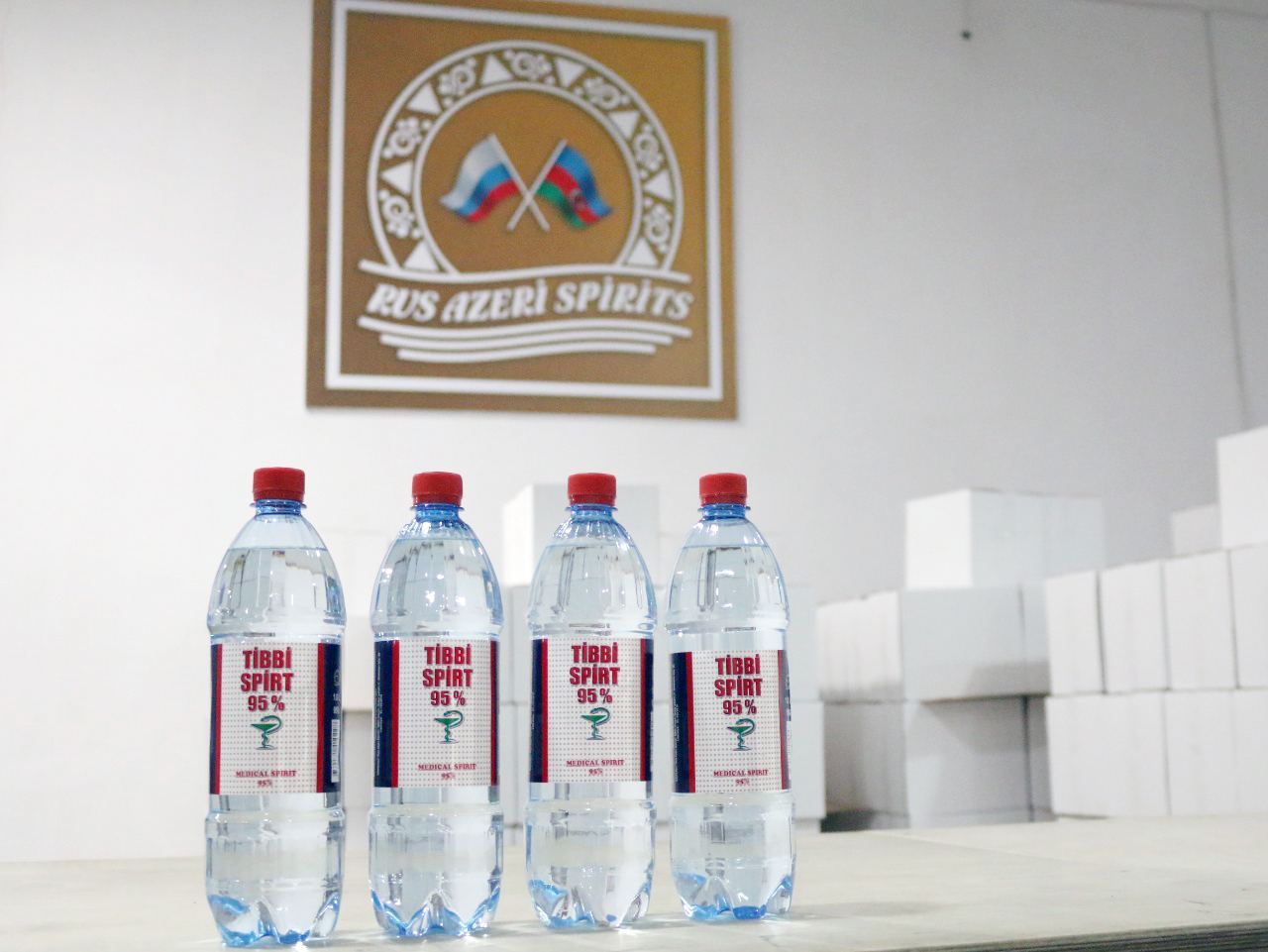 Another Azerbaijani company launches medical alcohol production (PHOTO)