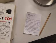 Karantindəki tələbələr onlara xidmət edən dövlət qurumlarının əməkdaşlarına bu formada təşəkkür ediblər (FOTO) - Gallery Thumbnail