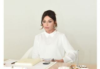 Azerbaijan's First Vice-President Mehriban Aliyeva donates her annual salary to Fund to Support Fight Against Coronavirus