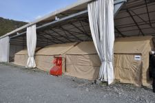 Azerbaijan's Emergency Ministry increases number of tents at border reception and sorting points (PHOTO/VIDEO) - Gallery Thumbnail
