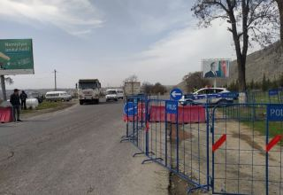 Azerbaijan's Internal Ministry: Entry, exit from Sheki district restricted (PHOTO)
