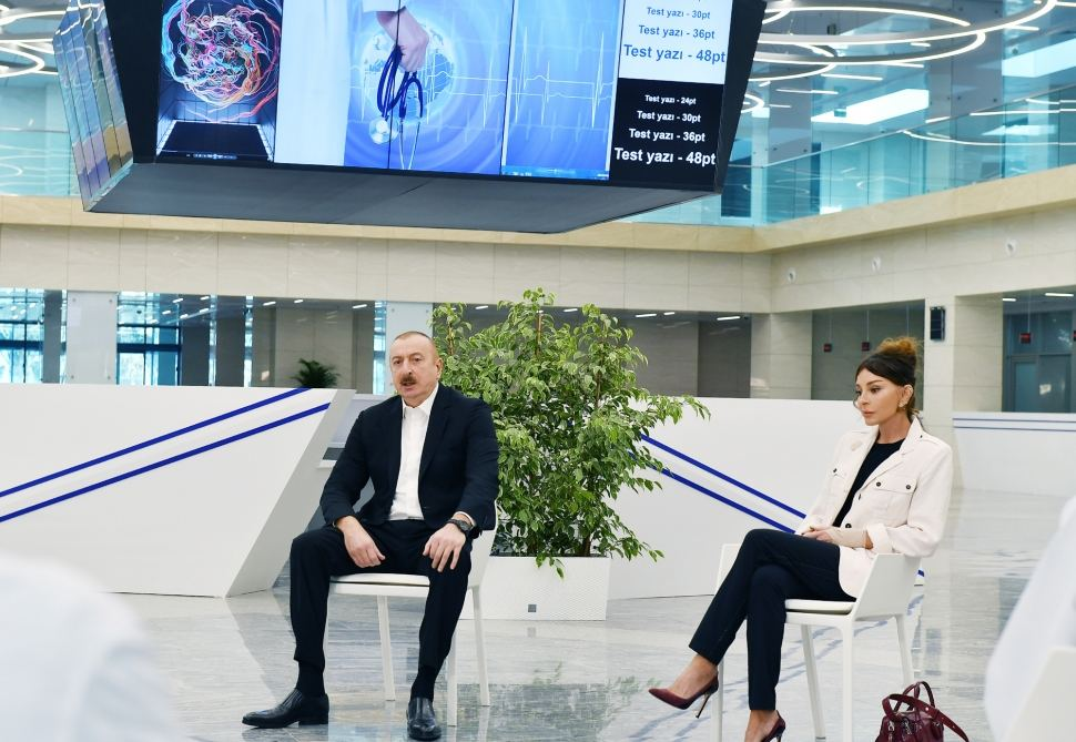 President Ilham Aliyev: Making country's best hospital available to coronavirus patients – what can be more than this?