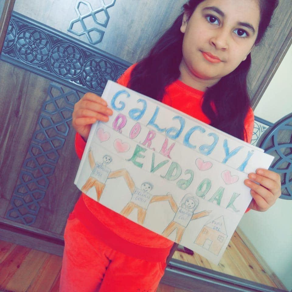 Очень трогательное обращение детей азербайджанских медиков и самых юных граждан (ВИДЕО, ФОТО) - Gallery Image