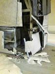 Bakıda avtobus qəzası nəticəsində yola dəyən ziyan aradan qaldırılır (FOTO) - Gallery Thumbnail