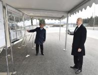Azerbaijani president attends inauguration of pedestrian crossing at intersection of Moscow Avenue and 20 January Street (PHOTO) - Gallery Thumbnail