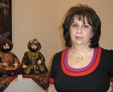 Только самоизоляция может помочь остановить распространение коронавируса - мастер по созданию авторской куклы Тамилла Гурбанова