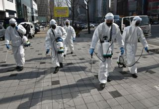 Uzbekistan begins disinfection of streets