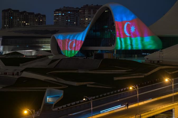 Azerbaijan's Heydar Aliyev Center supports countries where COVID-19 widespread (PHOTO/VIDEO) - Gallery Image