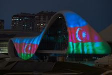 Azerbaijan's Heydar Aliyev Center supports countries where COVID-19 widespread (PHOTO/VIDEO) - Gallery Thumbnail