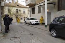 В поселке Байыл продолжаются дезинфекционные работы в жилом районе (ФОТО) - Gallery Thumbnail