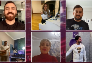 Azerbaijani stars join #Evdəqal (stay home) campaign: Video project by Trend news agency