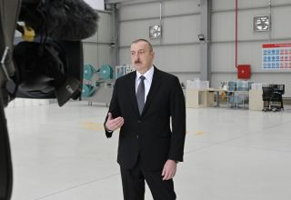 President Ilham Aliyev: In event of artificial inflation of mask prices, those involved will be severely punished