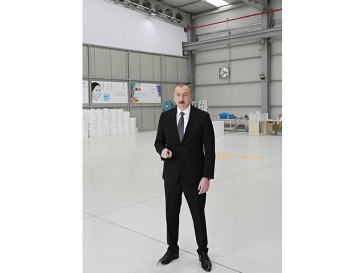 President Ilham Aliyev: Infrastructure available in Azerbaijan allows us opportunity to succeed in organizing necessary production in short time