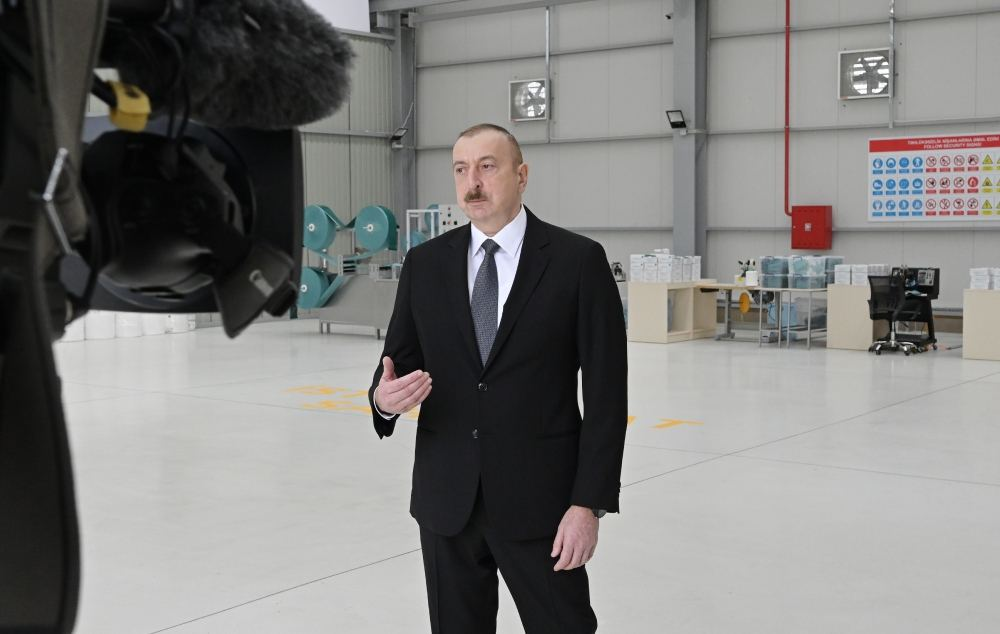 President Ilham Aliyev: There are plans to set up modern hospitals in Baku and a number of regions in near future