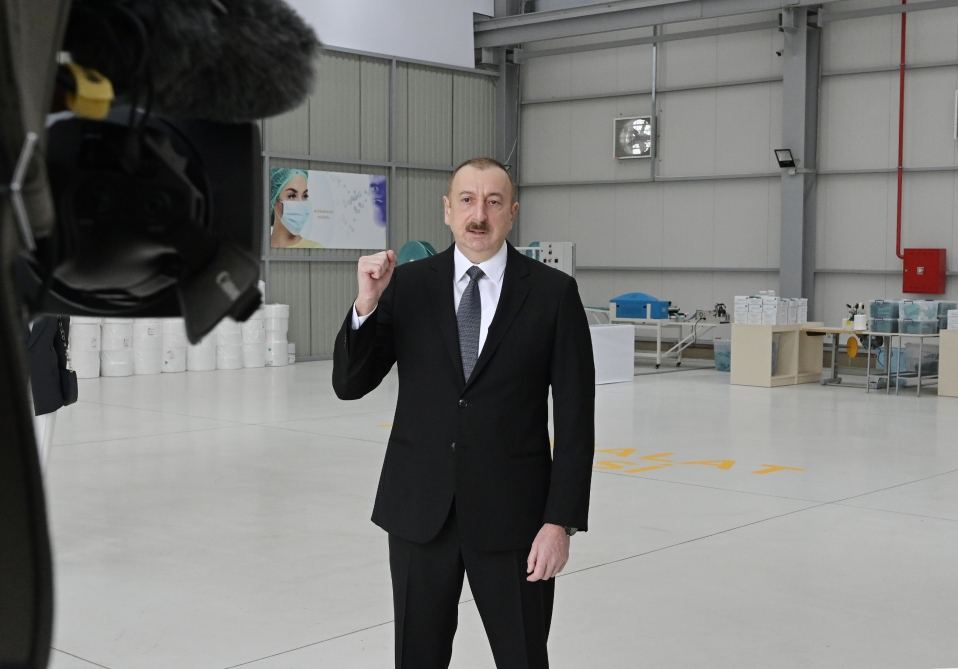 President Ilham Aliyev: After April 20, we will take steps in accordance with current situation