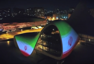 Heydar Aliyev Center supports Iran amid COVID-19 outbreak (VIDEO)